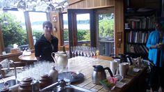 Beverages and Elizabeth, at your service