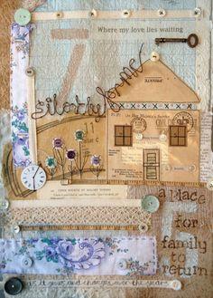 ali ferguson..so beautiful textile piece
