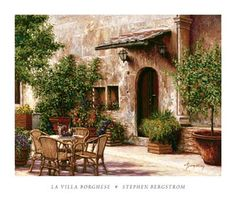 Create a Tuscan Patio by Virginia Allain  Tips for turning your backyard into a Tuscan retreat.