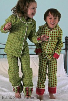 Lazy Day Pajamas pdf sewing pattern by Blank Slate Patterns