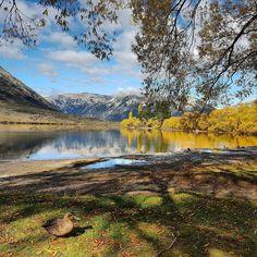 Lake Pearson, Canterbury, NZ.