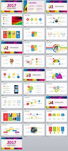 31+ multicolor Business Report PowerPoint Templates