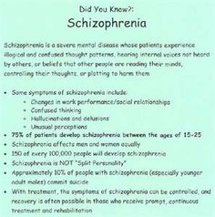 What schizophrenia is