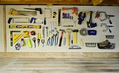 Classic Peg | Young House Love - use a pegboard to organize tools... one day when I have a garage or unfinished basement