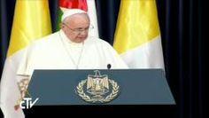 El Papa Francisco llega a Belén