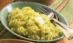 How to cook spaghetti squash - cut up or whole, by baking, boiling, microwaving, or even in a crock pot. Storage tips.
