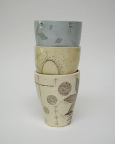 beautiful cups made by www.dianafayt.com