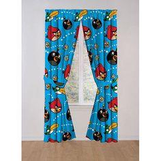 Angry Birds Galore Curtain Panel, Set of 2: Decor : Walmart.com