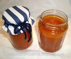 Compota de cenoura e maçã na bimby