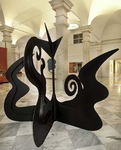 Alexander Calder (American: 1898 - 1976) - Nenuphar, 1968 - Sheet steel