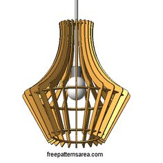 Create a stylish chandelier with a decorative appearance for your home's ceiling.This design is a stunning and simple 3D Laser Cutter and homemade puzzle Project for apprentices and expert craftsmen. You would be responsible for cutting the chandelier with the use of a Co2 CNC laser cutter system. All of the required supplies which include