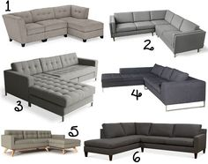 21 {Tufted, Modern, Sectional} Sofa Ideas