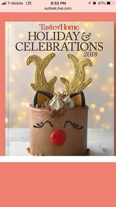 Christmas Recipes, Christmas Holidays, Xmas Food, Yummy Cakes, Cake Ideas, Pies, Amazing Cakes