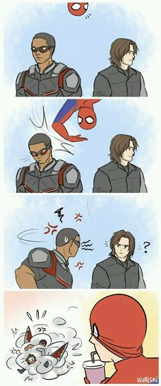 OMFG. PFFT. LOLOL. Spidey you're a brat.