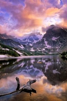 Lake Isabelle, Indian Peaks Wilderness, CO by Joseph Rossbach