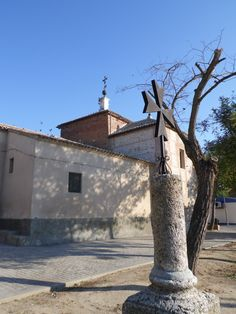 VILLAMIEL DE TOLEDO (TOLEDO) - Iglesia de Ntra. Sra. de la Redonda.