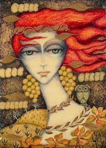 Angela Petrescu-Tipărescu was born on the of April in Baia de Aramă. Children's Book Illustration, Book Illustrations, Childrens Books, Fairy Tales, Fine Art, Romania, Faces, Painting, Lady