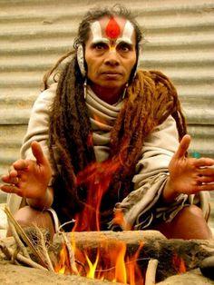 woman sadhu - a sadhvi