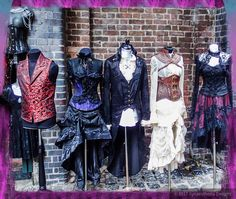 Still slowly going through my holiday photos. This is period clothing at Camden markets #london #travel #vacation #europeadventure #fashion #periodfashion #corset #camdenmarket #nofilter