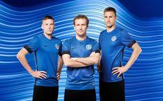 Camisas da Estônia 2016-2017 Nike