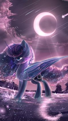 Mlp princesses Luna