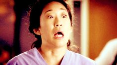I don't even know what's happening here, but it's wonderful.    27 Reasons Why Cristina Yang Is Everything You Aspire To In Life