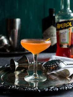 Ready for your next perfect summer cocktail? This Aperol and Gin Cocktail is the perfect drink for beating the heat!