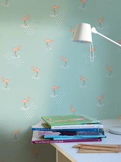 Hooked on Walls Jack 'n Rose junior behang kopen Wall Jack, Mint, Orange, Design, Jr, Home Decor, Bahn, Walls, Shopping