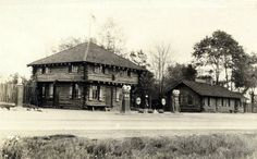 Gas Station and the Log Cabin Restaurant, Borough of Waterford.