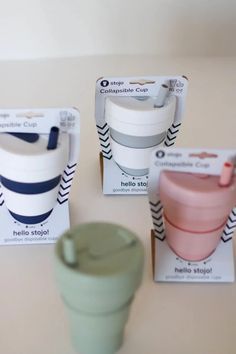 These collapsible cups solve a major struggle of reusable cups by becoming perfectly compact. Easy to throw in a purse or a bag, without taking up too much space or weighing you down! Restaurant Coupons, Disposable Cups, Birthday Month, Sale Items, Compact, Eco Friendly, Purse, Space, Bag