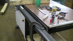 How To Build A T-Square Table Saw Fence For European Table Saw Part 1, via YouTube.