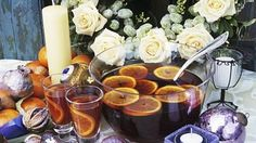 Punč Candle Jars, Candles, Table Decorations, Smoothie, Drinks, Cooking, Drinking, Kitchen, Beverages