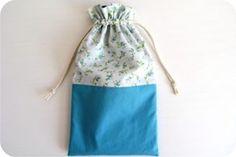 como costurar um saco de tecido - taleigo