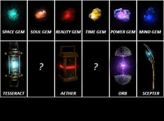 The Infinity Stone manifestations spell out a certain Mad Titan's Name... - GIF on Imgur