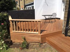 At London Decking Company we create beautiful timber and composite decking areas throughout the London,UK, using the best materials and experienced staff. Hardwood Decking, Decking Area, Greenhouse Gardening, Composite Decking, Surrey, Outdoor Furniture, Outdoor Decor, Terrace, Home And Garden