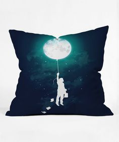 Look at this #zulilyfind! Take Me Away Throw Pillow #zulilyfinds