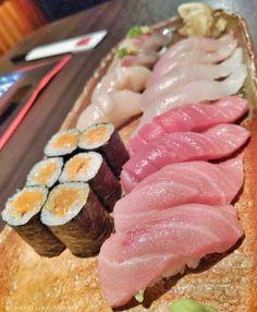 This is how I roll. Sushi from @NamiRestaurant. Otoro chutoro scallop aji kanpachi hamachi sushi... And they have uni maki. _____ Nami Restaurant - Toronto Ontario _____ My Travel and Nature IG: @TravellingFoodieExplores  Twitter/ Snapchat: TravellinFoodie _____       _____ #TravellingFoodieEatsAndDrinks