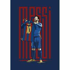The online print store and portfolio of Kieran Carroll Design. Fc Barcelona, Lionel Messi Barcelona, Football Icon, Football Art, Messi Tattoo, Football Celebrations, Leonel Messi, Cristiano Ronaldo Cr7, Football