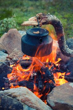 Forest Coffee by Hans Marius Mindrum #Camping