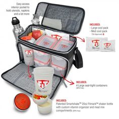 Creatively Designed Bags For Fitness Sport And Workout Fitmark Bag Manage Your Meals Like You Life Efficient Organized Smart
