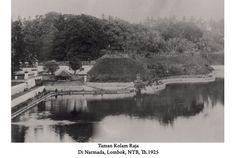 Taman kolam Raja di Narmada, Lombok, NTB tahun 1925