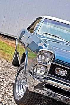 66 GTO stacked head lights and cragers