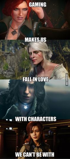 I just need to replace them with Alistair, Fenris, Cullen from Dragon Age and Kaidan from Mass Effect... the sad truth about my game boyfriends!