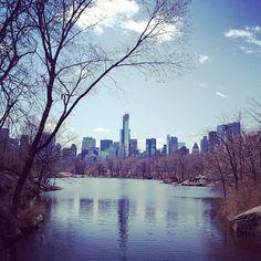 Oak Bridge in Central Park Photo by shumayabang