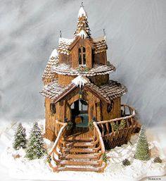 Christmas - ginger bread house