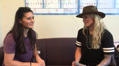 Quick-fire Q&A with Ali Krieger and Ashlyn Harris