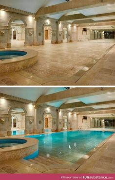 Awesome: Hide-Away Swimming Pool