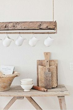Charming Bohemian Home Interior Design Ideas Natural Living, Kitchen Design, Kitchen Decor, Kitchen Ideas, Rustic Kitchen, Country Look, Coastal Country, Interior Styling, Interior Design