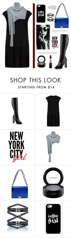 """""""New York City girl"""" by celida-loves-pink ❤ liked on Polyvore featuring Gucci, MuuBaa, Thakoon, Chanel, MAC Cosmetics, Eva Fehren, Casetify and Minimalist"""