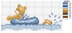 ponto cruz de banheira de bebe - Pesquisa Google